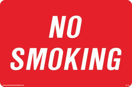 AS-52 Aluminium Sign - NO SMOKING