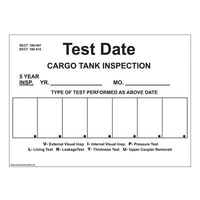 D-811 Truck & Tanker Decal - CARGO TANK...