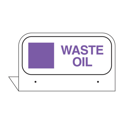 FPI-37 WASTE OIL FILL PORT TAG