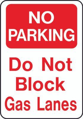 ATS-06 Sign-No Parking  Do Not