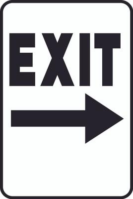 ATS-13 Sign-Exit Right Arrow