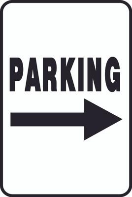 ATS-19 Sign-Parking Right Arrow