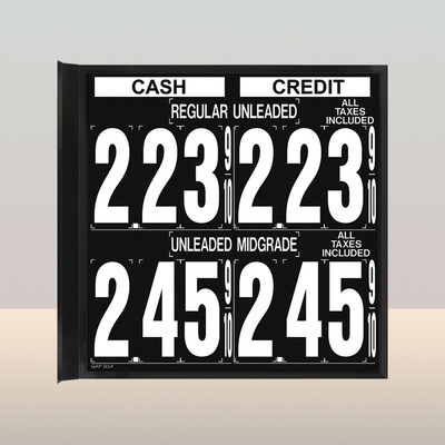 """MV240S Standard 1.5  x 4.5"""" Numbers"""