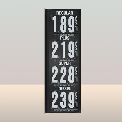 """MV400S Standard 1.5"""" X 4.5"""" Numbers"""