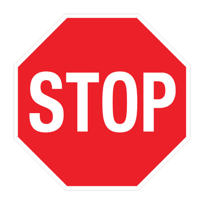 "RTS-21 Traffic Signs - ""Stop""  Reflective"