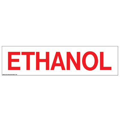 D-315 Pump Ad. Panel Decal - ETHANOL