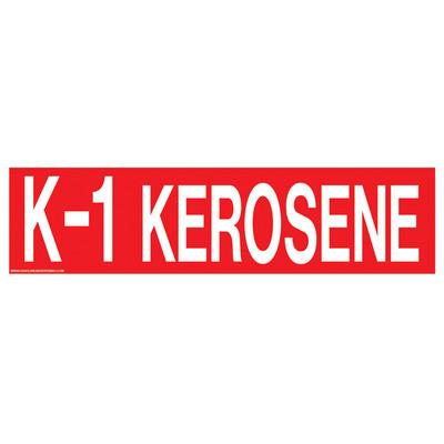 D-332 Pump Ad. Panel Decal - K-1 KEROSENE