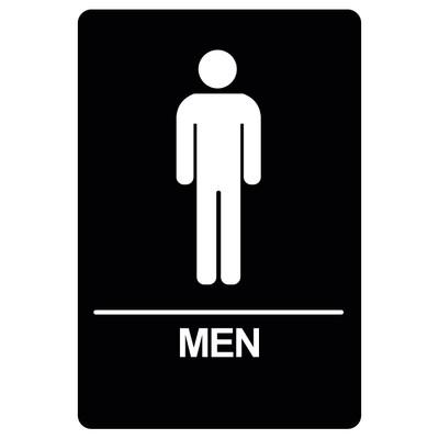 BRS-02 Restroom Sign - MEN