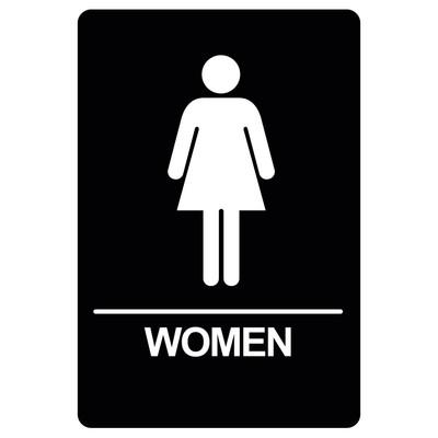 BRS-04 Restroom Sign - WOMEN