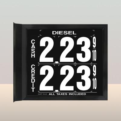 """MV170S Standard 1.5"""" X 4.5"""" Numbers"""