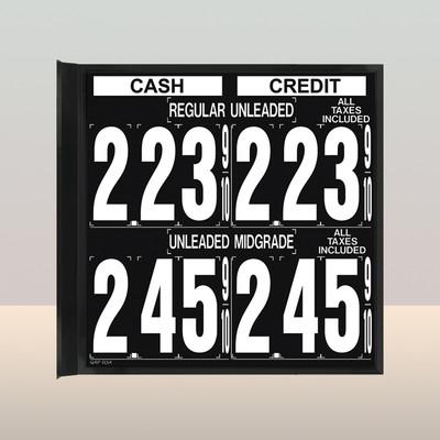 """MV270S Standard 1.5"""" X 4.5"""" Numbers"""