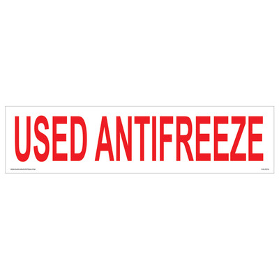 CVD-HTZ16 USED ANTIFREEZE