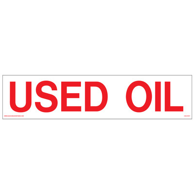 CVD-HTZ17  USED OIL