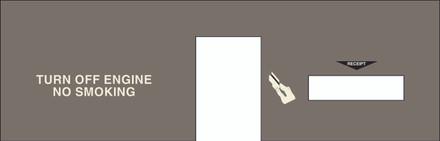DG8-BP-C04 Option Panel with Reciept Door