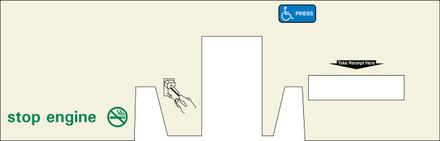 DG8-BP-C05 Option Panel with Reciept Door