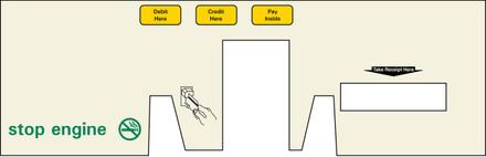 DG8-BP-C06 Option Panel with Reciept Door