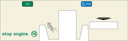 DG8-BP-C07 Option Panel with Reciept Door