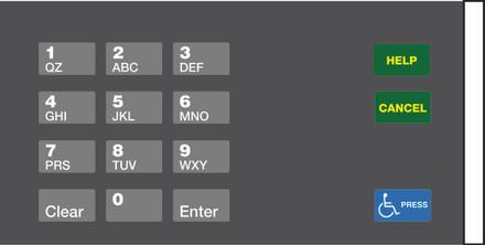 GA-EU03004G003 Keypad Overlays