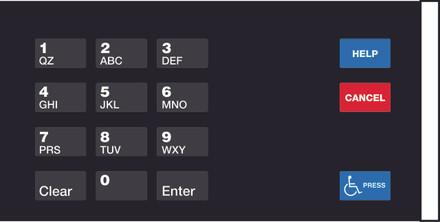 GA-EU03004G006 Keypad Overlays