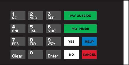 GA-EU03004G021 Keypad Overlays