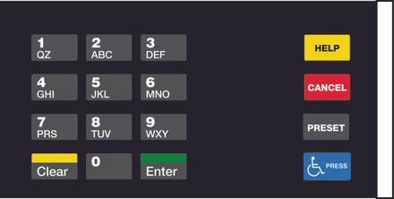 GA-EU03004G038 Keypad Overlays