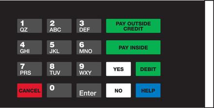 GA-EU03004G044 Keypad Overlays