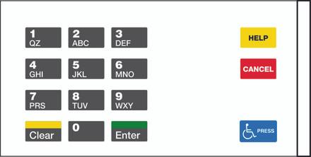 GA-EU03004G071 Keypad Overlays