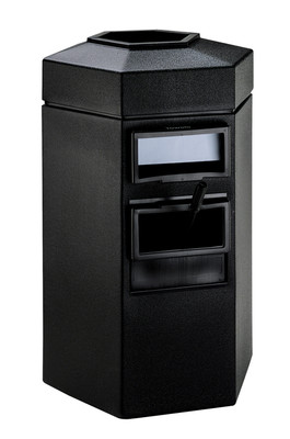 CZ-755301 50-Gallon Hex Single Sided, Black
