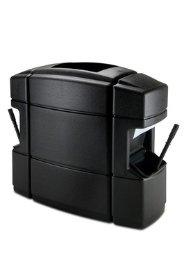 CZ-758701 40-Gallon Waste/WSC, Double Sided, Black