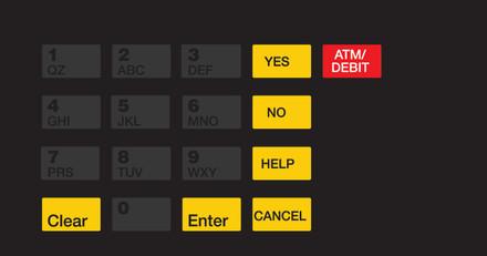 GA-EU03004G080 Keypad Overlays