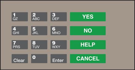 GA-EU03004G100 Keypad Overlays