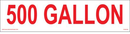 CVD09-95 - 500 GALLON