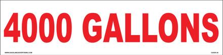 CVD05-34 - 4000 GALLONS