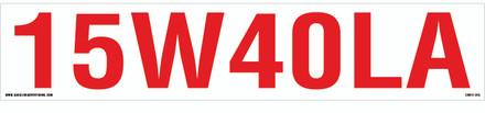 CVD17-013 - 15W40LA