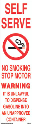 CVD17-077 - NO SMOKING...