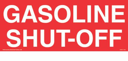 CVD17-102 - GASOLINE SHUT-OFF