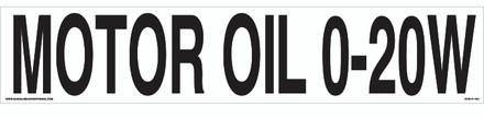 CVD17-104 - MOTOR OIL 0-20W