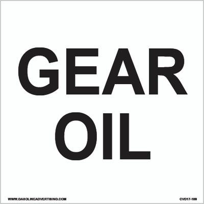 CVD17-109 - GEAR OIL