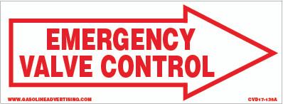 CVD17-135A - EMERGENCY VALVE CONTROL