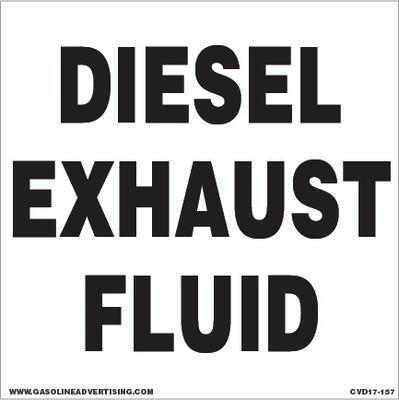 CVD17-157 - DIESEL EXHAUST FLUID
