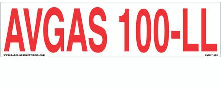 CVD17-159 - AVGAS 100-LL