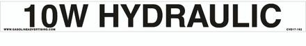 CVD17-162 - 10W HYDRAULIC