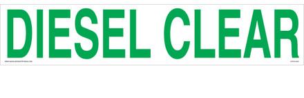 CVD18-029 - DIESEL CLEAR