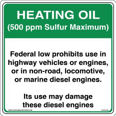 CVD18-229 - HEATING OIL...