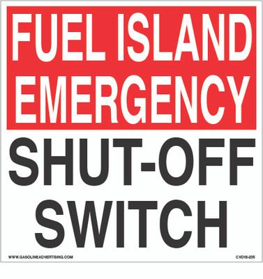 CVD18-235 - FUEL ISLAND...