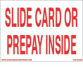 CVD18-238 - SLIDE CARD..