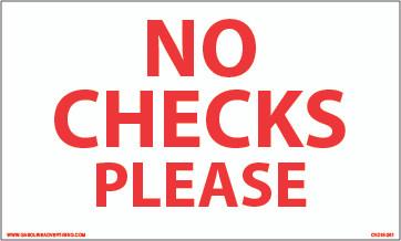 CVD18-261 - NO CHECKS PLEASE
