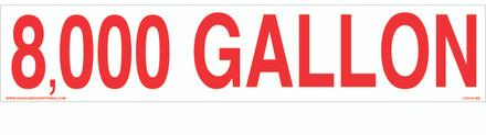 CVD18-262 - 8,000 GALLON