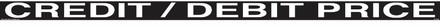 CVD18-265A - CREDIT/DEBIT PRICE