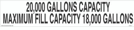 CVD18-267 - 20,000 GALLONS...